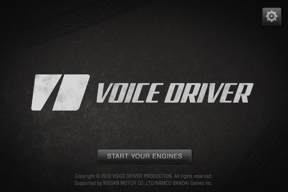 Screenshot VOICE DRIVER