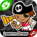 Kids Drawing: Pirates - Free Coloring Book And Drawing Lessons for Kid